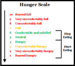 hungerscale